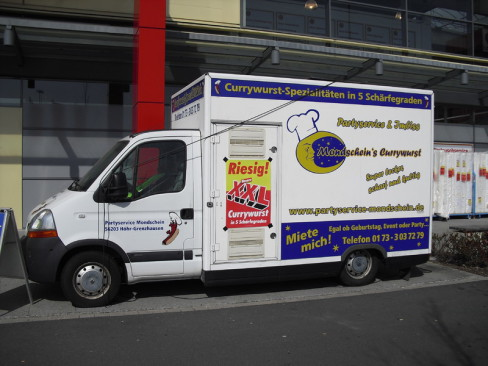 Unser Verkaufswagen